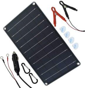 TP-solar 10 Watt 12 Volt Solar Panel Car Battery Charger