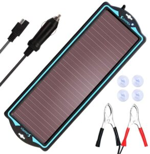 SUNAPEX 12V Solar trickle Charger