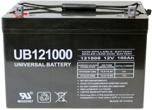 12V Deep Cycle Battery by Universal Power Group