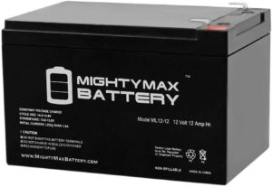 12V Deep Cycle Battery by Mighty Max Battery
