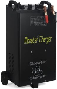 Stark 55 Amp 12/24 Voltages Wheeled Battery Fast Charger