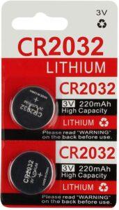 KeylessOption 2032 Battery