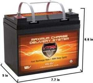 VMAXTANKS VMAX V35-857 12 Volt Battery