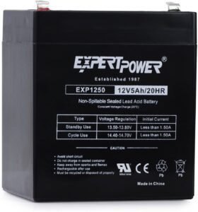 12V Home Alarm Battery by ExpertPower