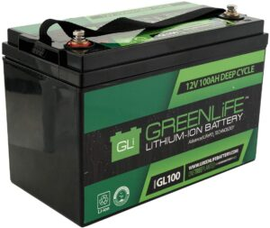 GreenLife Battery GL100 lithium car battery