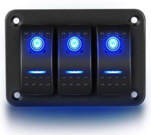 Nilight 90017c 3 Gang Battery Switch