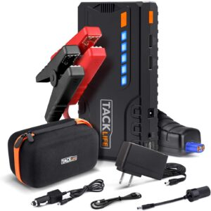 Car Jump-Starter by TACKLIFE – The Powerful Starter