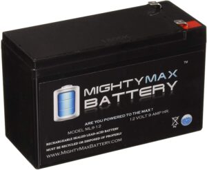 12V Rechargeable SLA Battery by Mighty Max Battery