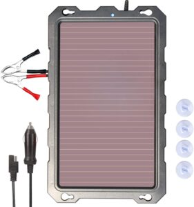 POWOXI 3.3W-Solar-Battery-Trickle-Charger-Maintainer
