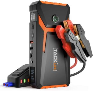 Car Jump Starter by TACKLIFE – Compact and Powerful Starter
