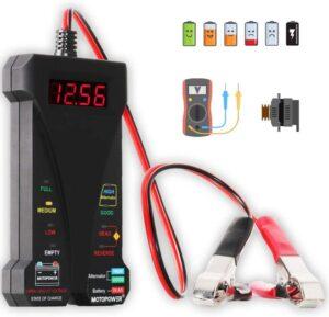 Moto power MP0514A 12V Digital Car Battery Tester