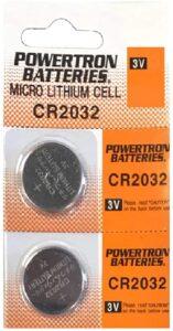 USARemote Battery CR2032 3V for Car Remote Key
