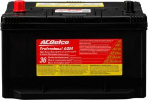 ACDelco 65AGMHR Professional AGM Automotive Battery
