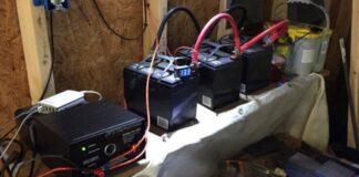 Deep Cycle Battery Power an Inverter