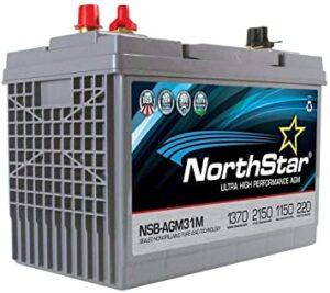 NorthStar NSB-AGM31M AGM Group 31 Marine Battery