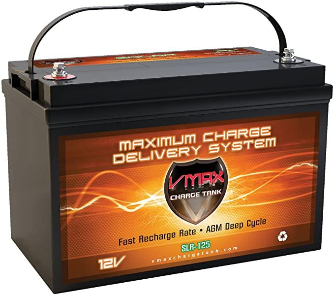 Vmaxtanks VMAXSLR125 AGM 12V 125Ah