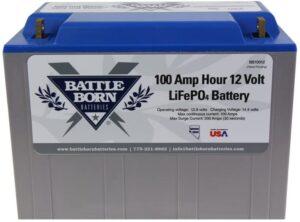 Battle Born LiFePO4 Deep Cycle Battery