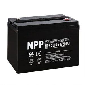 NPP AGM Deep Cycle Battery