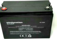 WindyNation 100 amp-Hour 100AH 12V 12 Volt AGM Deep Cycle