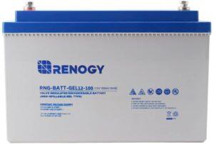Renogy 12V 100Ah Group 27 Deep Cycle Pure Gel Battery