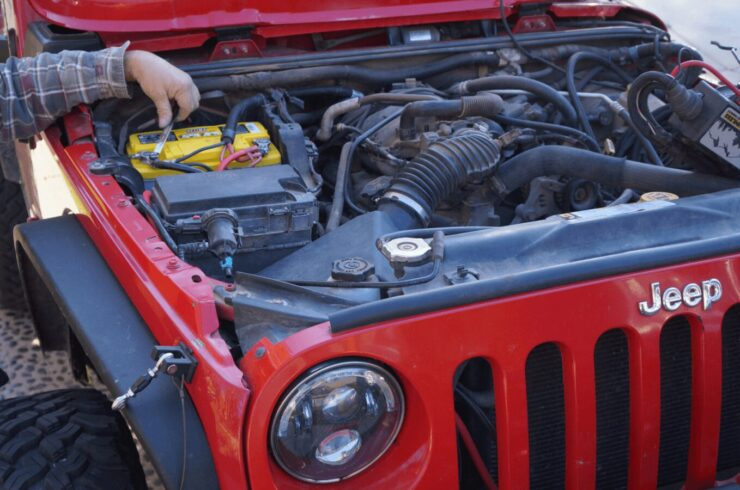 deep cycle battery for Jeep Wrangler